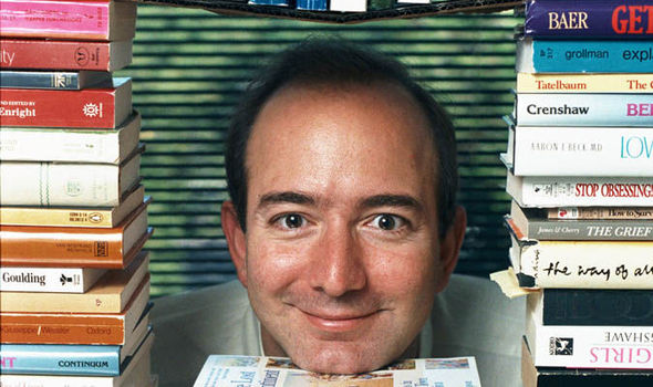 Jeff Bezos In A Pile Of Books 590317